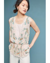 Antik Batik | Beaded Deep-v Shell | Lyst