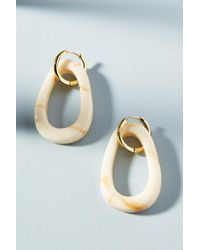 Amber Sceats Mali Resin Hoop Earrings