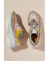 SELECTED - Colourblocked Trainers - Lyst