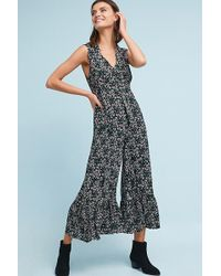 Maeve - Ansonia Ruffled Jumpsuit - Lyst