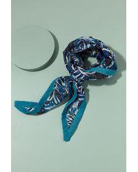 Anthropologie - Floral-print Silk Scarf - Lyst