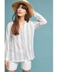 Everleigh - Aura Striped Shirt - Lyst