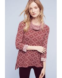 Moth - Cowled Galena Pullover - Lyst