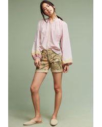 Hei Hei   Wanderer Printed Shorts, Olive   Lyst