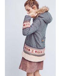 Elevenses - Embroidered Northerner Coat - Lyst