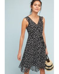 Donna Morgan - Polka Dot Wrap Dress - Lyst