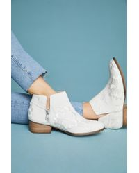 Seychelles - Lantern Embroidered Booties - Lyst