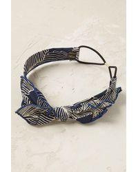 Anthropologie - Printemps Bow Headband - Lyst