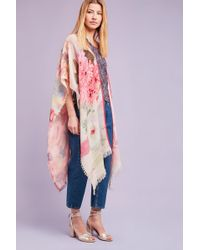 Bl-nk - Tansy Floral Kimono - Lyst