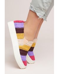 Seychelles - Seychelles Crocheted Fringed Trainers - Lyst