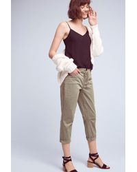 Marrakech - Upstate Lace-up Crops - Lyst