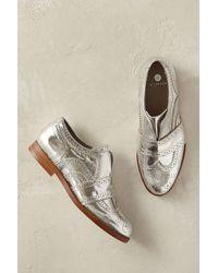 Hudson Jeans - Maddie Metallic Brogues - Lyst