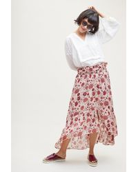 Second Female - Ines Floral Pleated Skirt - Lyst