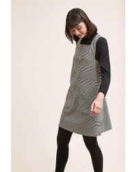 Anthropologie - Adaline Checked-shift Dress - Lyst