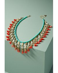 Serefina - Rhianne Bib Necklace - Lyst