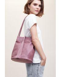 Anthropologie - Tasselled Shoulder Bag - Lyst