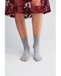 Becksöndergaard   Rosana Lurex Ankle Socks   Lyst