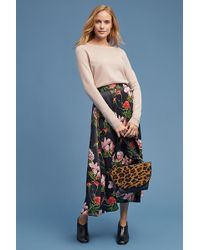 Just Female - Natalia Floral-print Midi Skirt - Lyst