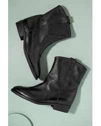 Anthropologie - Keeley Leather Cowboy Boots - Lyst