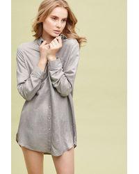 Seen, Worn, Kept - Celia Metallic Sleep Shirt - Lyst