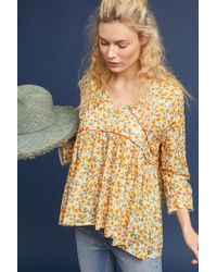 Ottod'Ame - Unica Peasant Top - Lyst