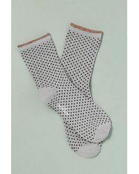Becksöndergaard   Dot Lurex Ankle Socks   Lyst