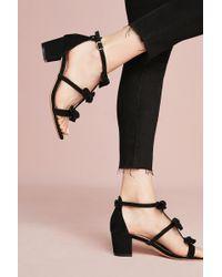 Anthropologie - Bow T-strap Heels - Lyst