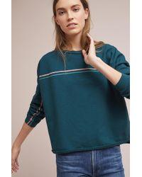 George Loves | Twin-striped Sweatshirt | Lyst