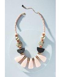 Anthropologie - Fanfare Bib Necklace - Lyst