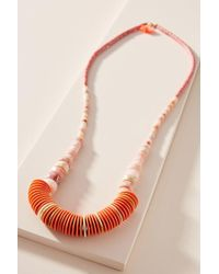 Anthropologie - Andie Gemstone Necklace - Lyst