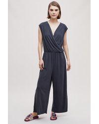 Just Female - Frigga Wrap Jumpsuit - Lyst