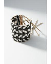 Sidai Designs - Geo Chevron Cuff Bracelet - Lyst
