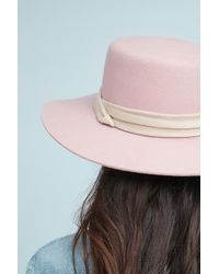 Anthropologie | Stefani Boater Hat | Lyst