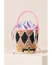 Anthropologie - Minnie Woven Bucket Bag - Lyst