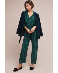 Anthropologie - Selected Femme Fina Striped Jumpsuit - Lyst