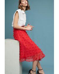 StyleKeepers - Marlow Textured Skirt - Lyst