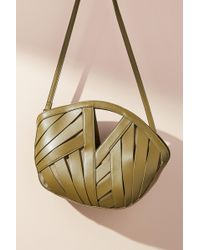 Anthropologie - Petite Woven Basket Bag - Lyst