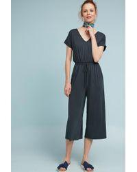 79a924899ba1 Lyst - Moulinette Soeurs Jaeda Lace Wide Leg Jumpsuit in Black