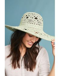 Anthropologie | Crocheted Floppy Hat | Lyst
