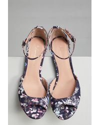35097621729 Lyst - Cubanas Highfield Heels in Natural