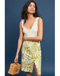 Maeve - Daintree Pencil Skirt - Lyst