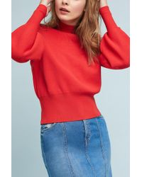 Just Female | Alma Knit Pullover | Lyst