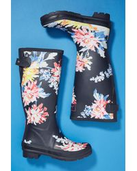 Joules - Printed Rain Boots - Lyst