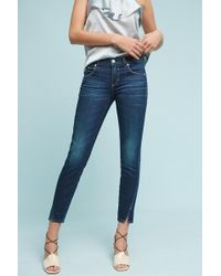 AMO   Twist Mid-rise Skinny Ankle Jeans   Lyst