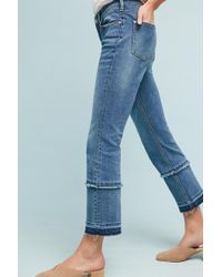 Anthropologie - Pilcro High-rise Cropped Bootcut Jeans - Lyst