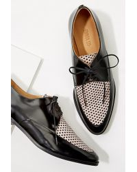 Emma Go - Two-tone Textured Brogues - Lyst