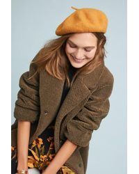 Anthropologie - Fall Forward Beret - Lyst