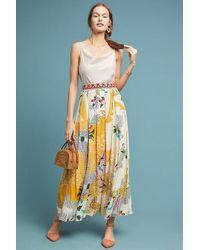 Hemant & Nandita - Mischa Maxi Skirt - Lyst