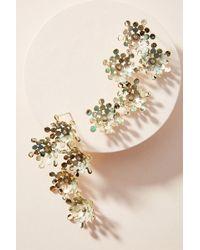 Anthropologie - In Full Bloom Drop Earrings - Lyst