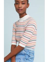 Numph - Cassidy Striped Pullover - Lyst